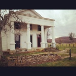 The beautiful home I stayed in on a farm in southern Ohio near Chillicothe
